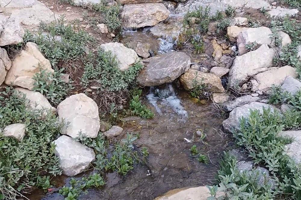 استفاده از آب سرد جاری