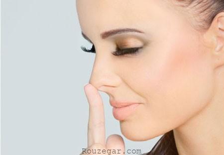 جراحی بینی و تزریق کورتون پس از آن
