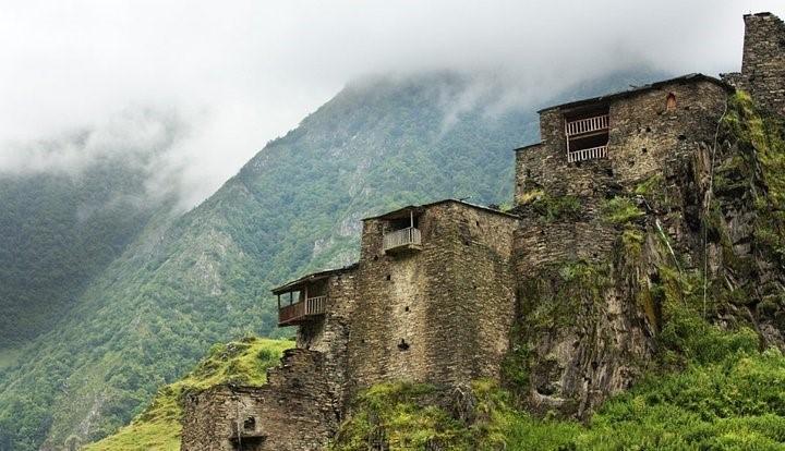 روستای شاتیلی خوسورتی Shatili Khevsureti