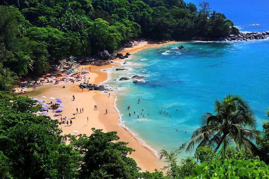 ساحل لائم سینگ Laem Singh Beach