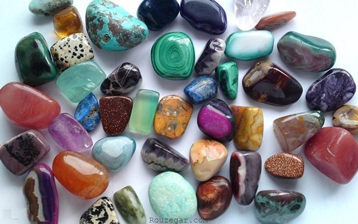 سنگ های معدنی و حفظ شفافیت آن ها