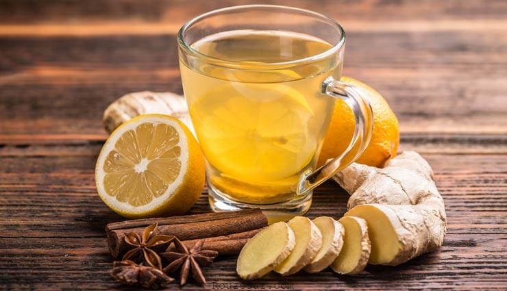 طرز تهیه چای زنجبیل