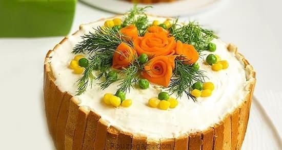 مواد مورد نیاز برای تهیه کیک مرغ -1