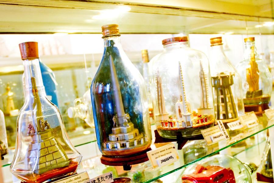 موزه بطری های شیشهای پاتایا (Pattaya The Bottle Art Museum )