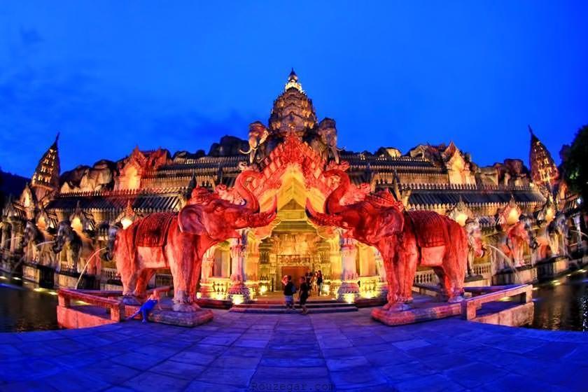 پارک تفریحی فانتازیا Phuket FantaSea
