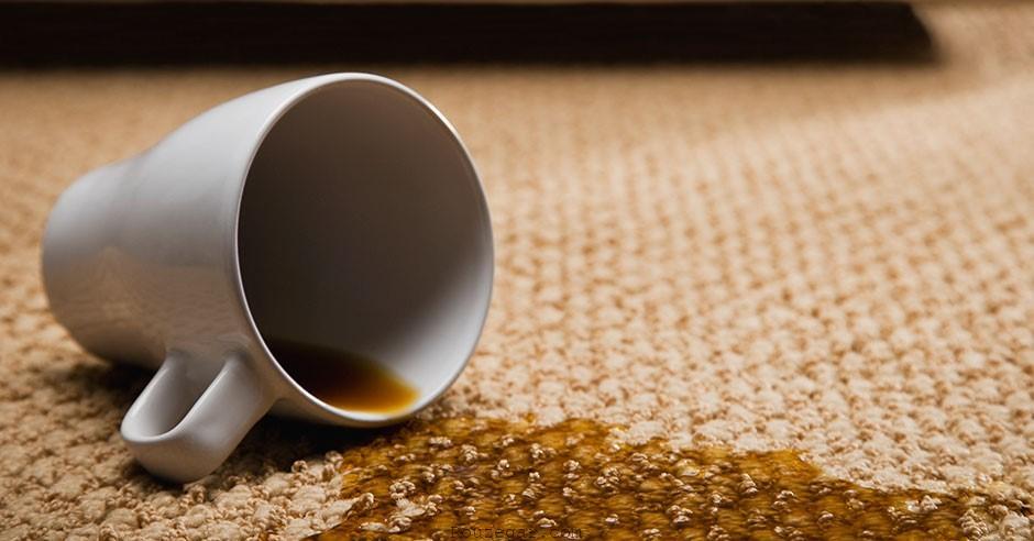 پاک کردن لکه های چای و قهوه