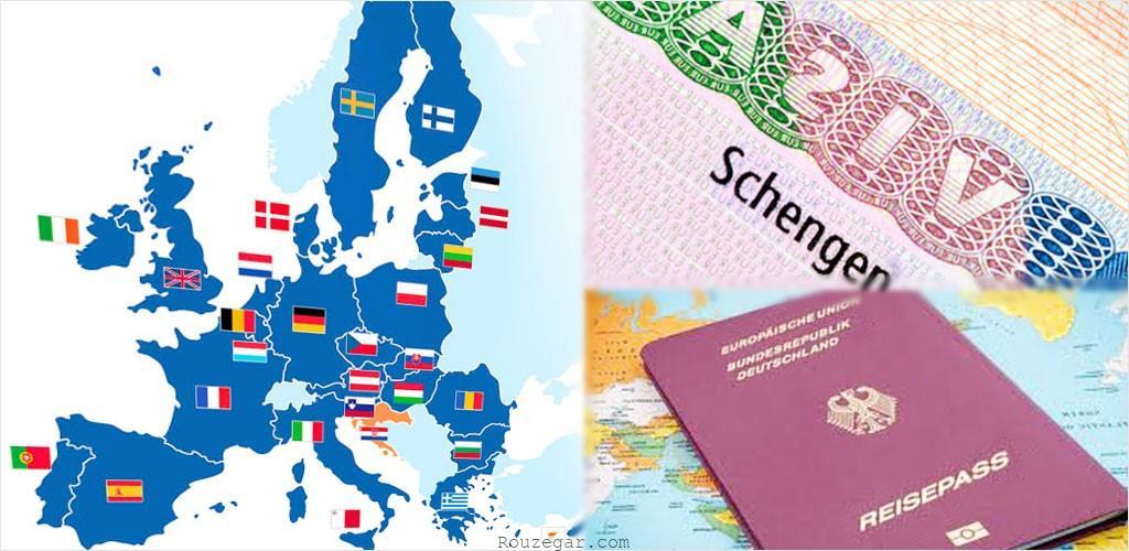 کشورهای اروپایی هم پیمان شینگن