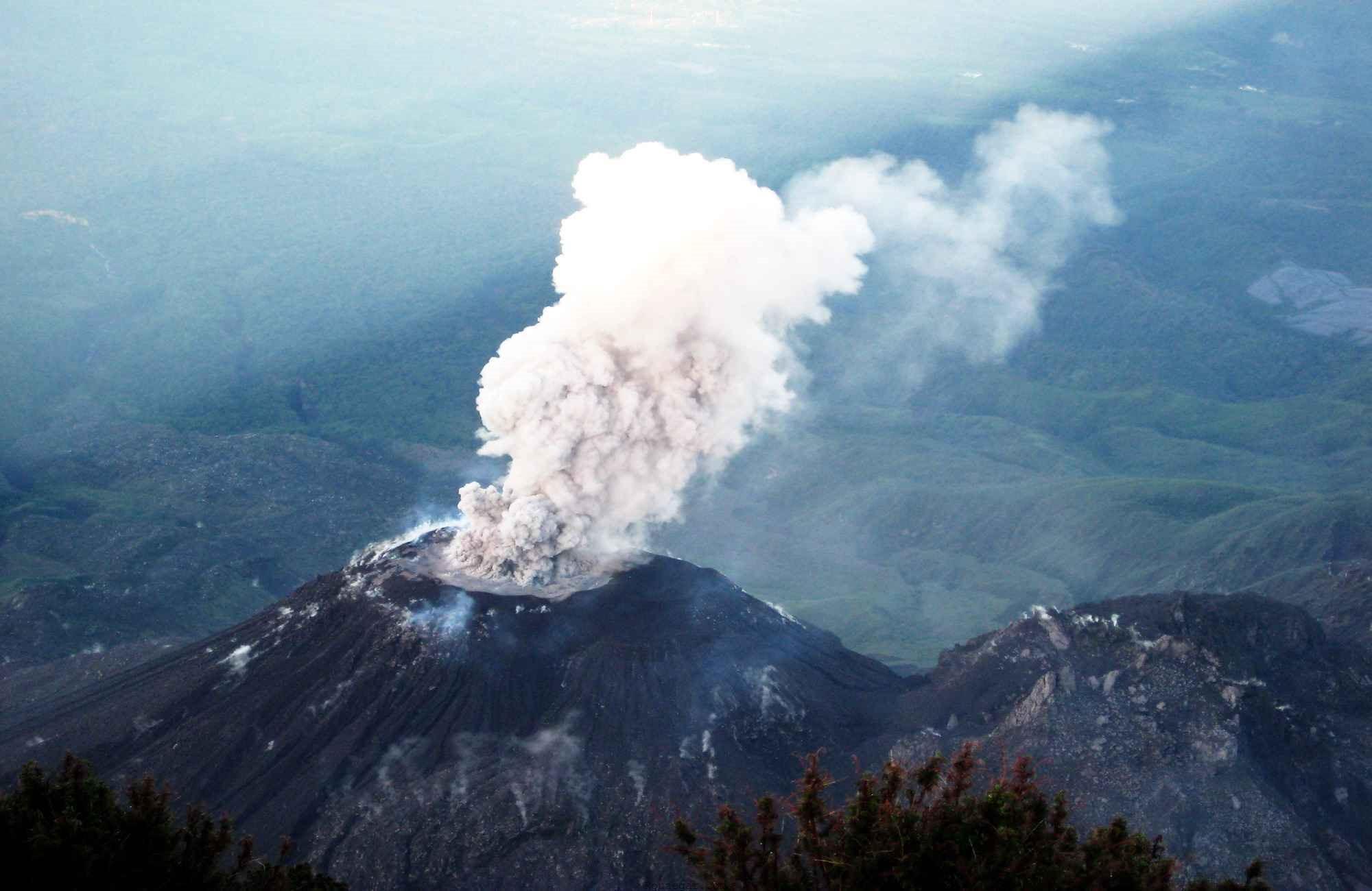 کوه سانتا ماریا (Santamaria Volcano)
