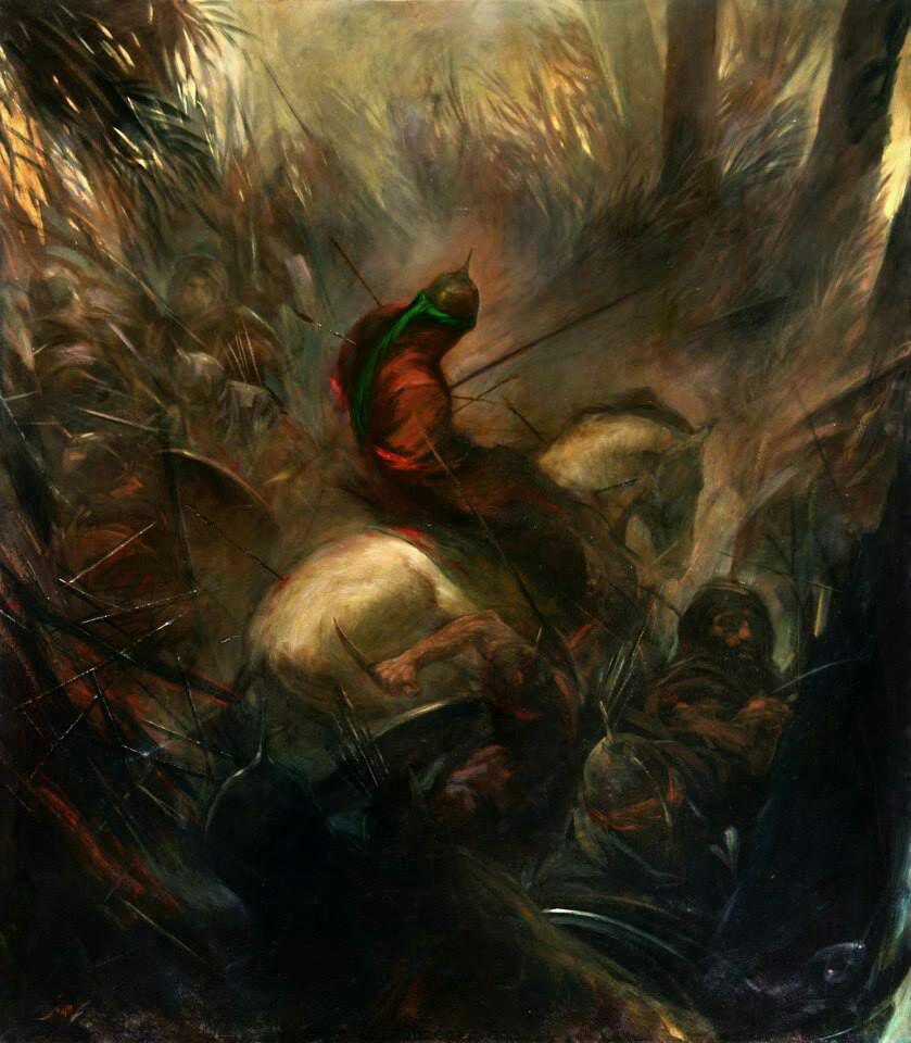 حضرت عباس در روز عاشورا