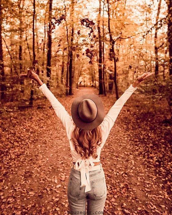 عکس گرفتن در پاییز