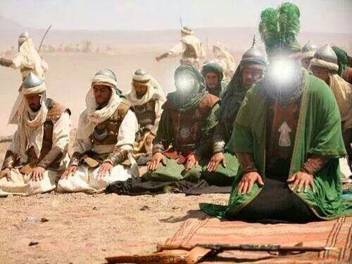 نماز امام حسین