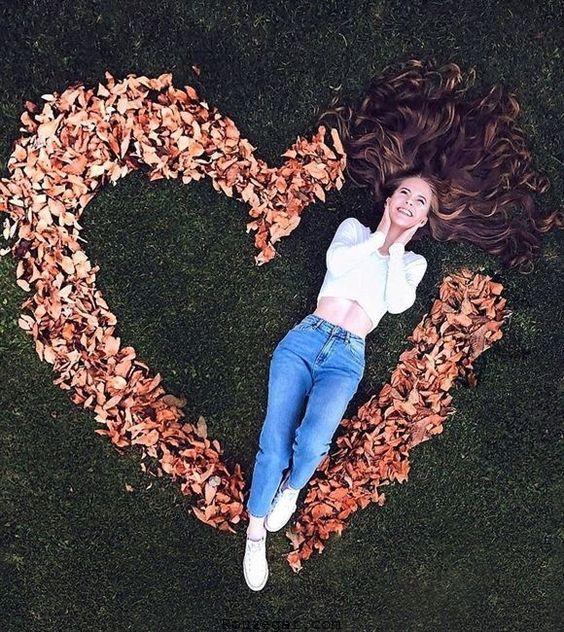 بهترین مدل عکس گرفتن در پاییز