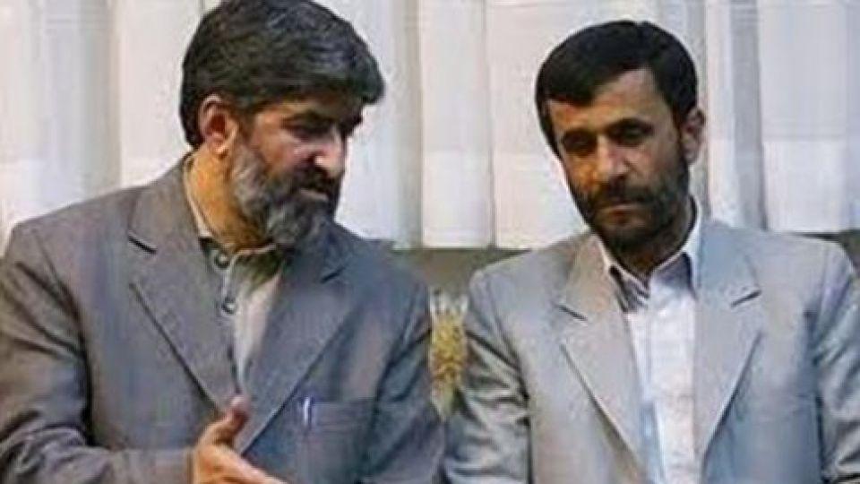 Image result for علی مطهری و احمدی نژاد