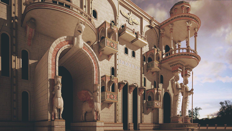 پاسارگاد کاخ کوروش کبیر