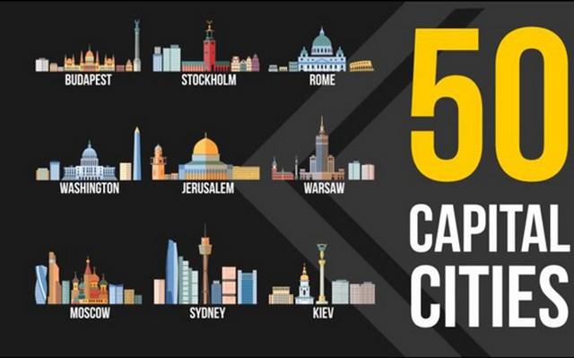 ۵۰ پایتخت کشور