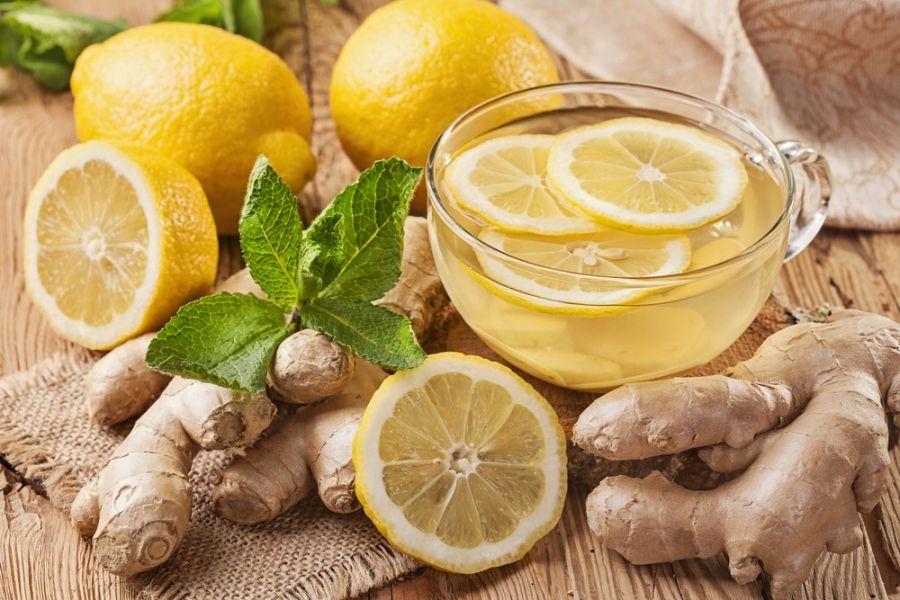 طرز تهیه دمنوش زنجبیل و لیمو