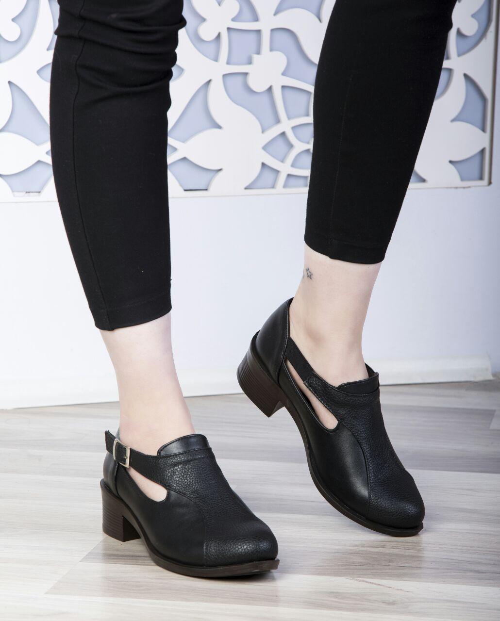 خرید کفش اداری زنانه مشکی