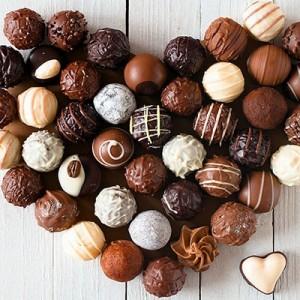 ترافل توپی نارگیلی - طرز تهیه شکلات توپی نارگیلی یا ترافل | ایران کوک