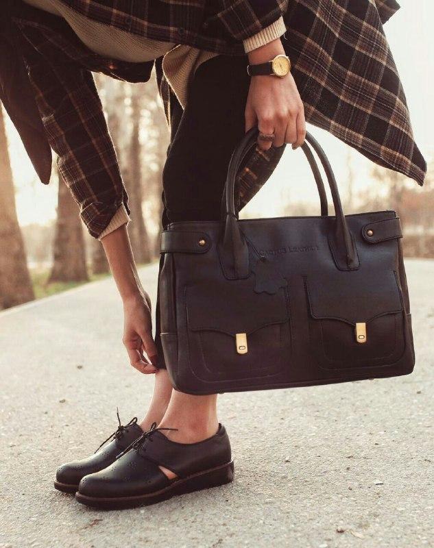 خرید ست کیف و کفش چرم کاکتوس 3 از فروشگاه چرم کاکتوس | شاپگرام
