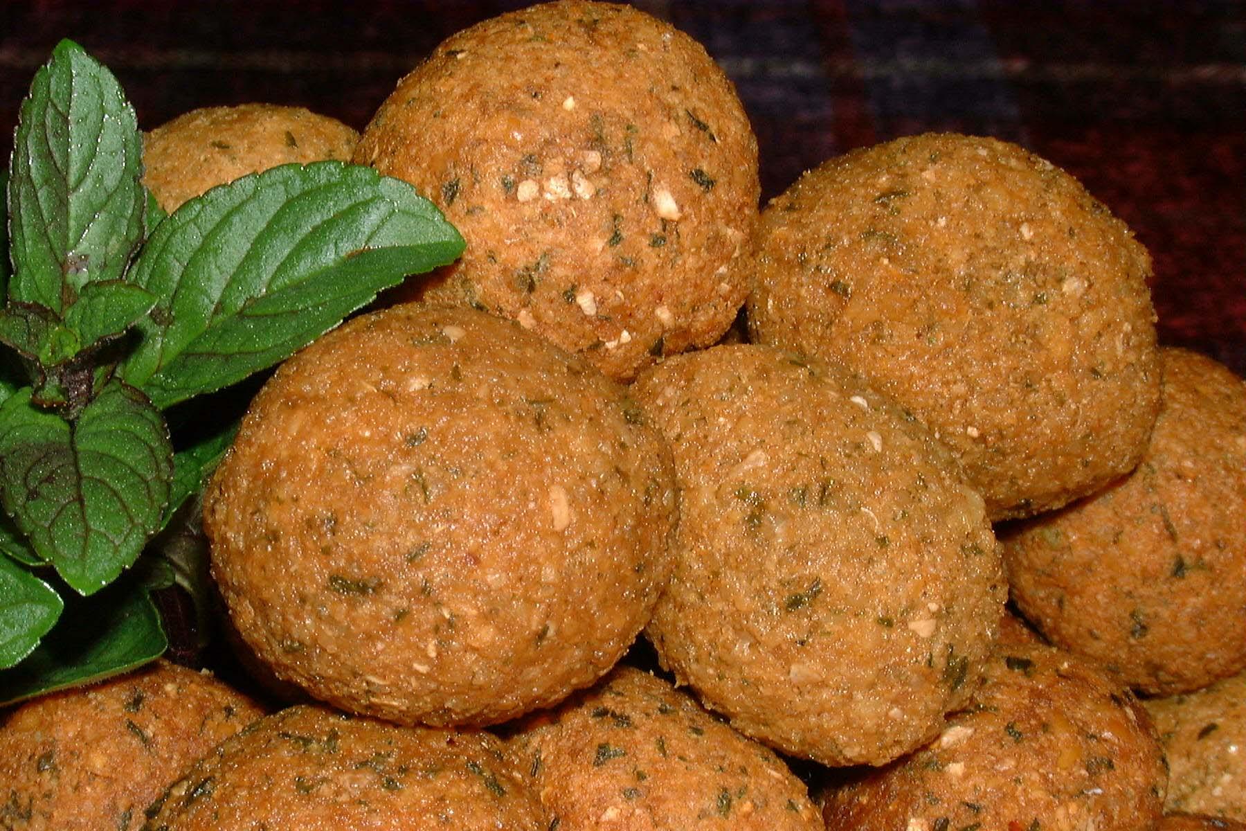 دستور پخت فلافل لبنانی