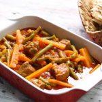 روش پخت خوراک سبزیجات ؛ غذای رژیمی و سالم