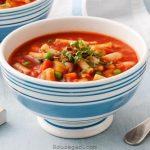 طرز تهیه سوپ ماکارونی به عنوان پیش غذا