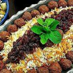 روش پخت رشته پلو زنجان با تهدیگ سیب زمینی