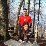 عکس های محسن مسلمان و همسرش غراله میر مدل ایرانی