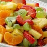 طرز تهیه سالاد میوه رنگارنگ