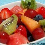 طرز تهیه سالاد میوه موهیتو