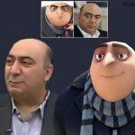 شباهت جالب حمید رضا سیاسی به شخصیت انیمیشنی