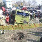 حکم متهمان واژگونی اتوبوس دانشگاه آزاد منتشر شد
