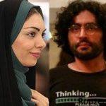 آزاده نامداری و برادر گلشیفته فراهانی در زعفرانیه + عکس