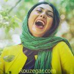 عکس مدل مانتو آزاده صمدی در جشن حافظ