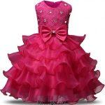 کلکسیون جدیدترین مدل لباس عروس بچه گانه پرنسسی