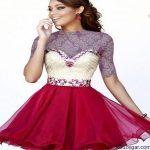 جدیدترین مدل لباس شب زنانه و مدل لباس شب دخترانه 95