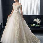 مدل لباس عروس مدل گیپور مدل ماهی پف دار 2015