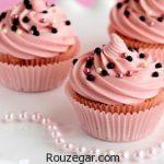 طرز تهیه کاپ کیک + ایده هایی نو برای تزیین کاپ کیک