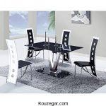 مدل میز ناهار خوری چوبی + میز و صندلی ناهارخوری کلاسیک 2018