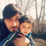 عکس احسان خواجه امیری و همسرش در راه عید دیدنی