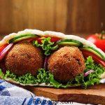 طرز تهیه فلافل بندری ساندویچی + راز خوشمزه شدن فلافل خوزستانی خانگی