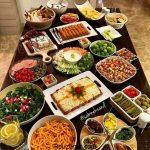 جدیدترین عکسهای مدل سفره آرایی غذا مدرن و ساده ایرانی