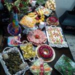 آموزش تصویری سفره آرایی غذا ایرانی و و تزیین سفره ساده