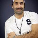 هادی کاظمی در پشت صحنه سریال علی البدل + عکس