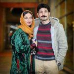 حدیث میرامینی و همسرش مجتبی رجبی در جشنواره فجر + عکس