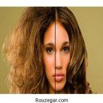 صاف کردن مو در خانه و بدون دردسر و هزینه