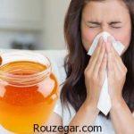 با معجزه عسل بیماری سرماخوردگي را درمان کنید!