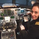 هاجر عسگری اولین خلبان زن ایرانی شد؟ + عکس