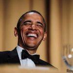 شوخی طنز اوباما با همسر کیم کارداشیان + عکس