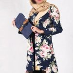 جدیدترین مدل مانتو سنتی با رنگ شاد از برند ایرانی Loo-D